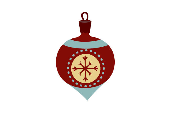 Download Free Mid Century Christmans Ornament Svg Cut File By Creative Fabrica for Cricut Explore, Silhouette and other cutting machines.
