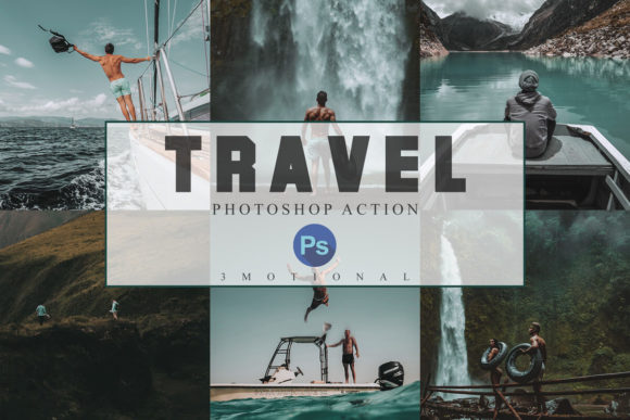 Download Free 6 Travel Photoshop Actions Acr Lut Filte Graphic By 3motional for Cricut Explore, Silhouette and other cutting machines.