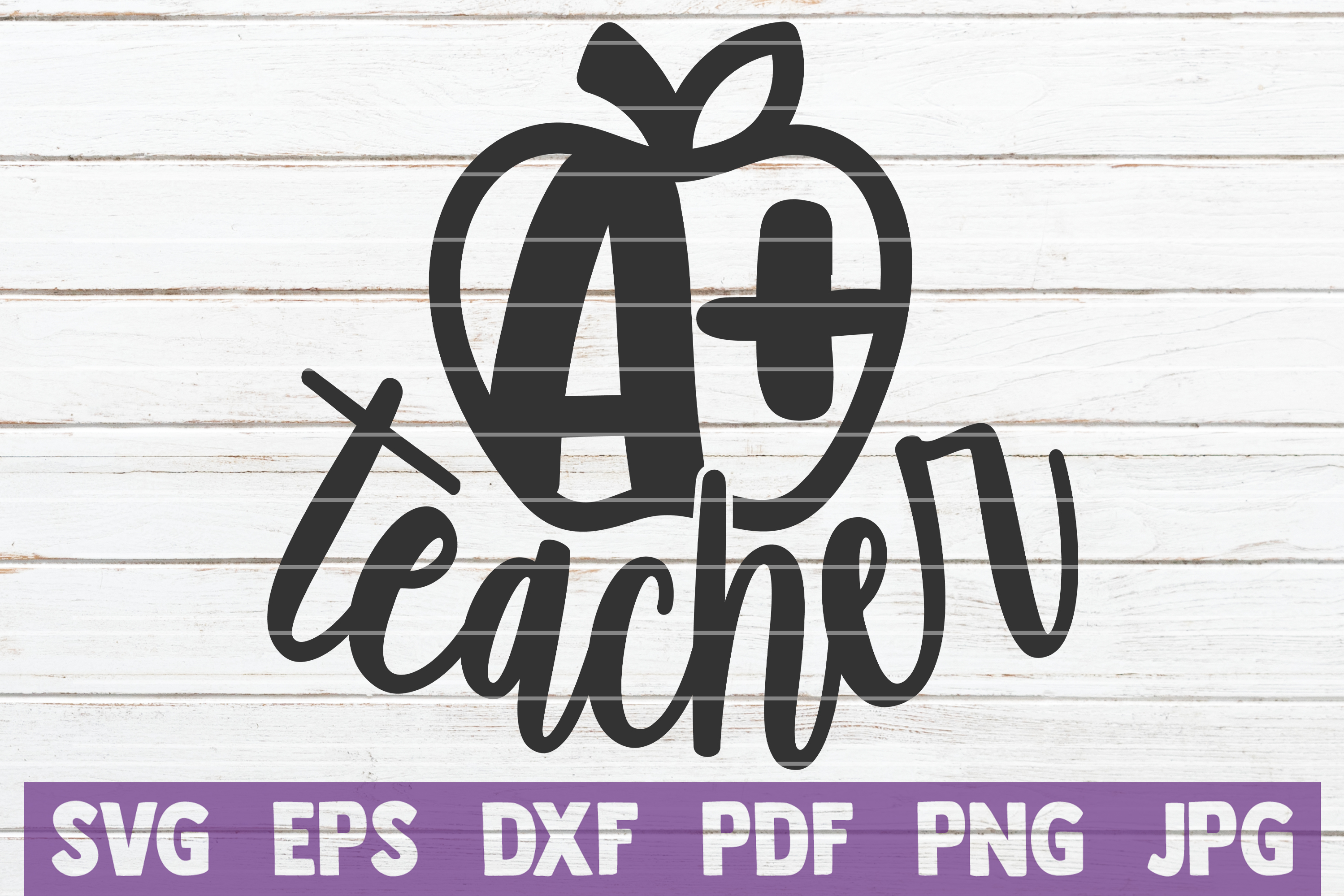 Download Free A Plus Teacher Graphic By Mintymarshmallows Creative Fabrica for Cricut Explore, Silhouette and other cutting machines.