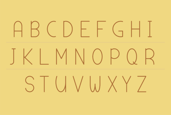 Download Free Abecedario Font By Danilo Miguel Creative Fabrica for Cricut Explore, Silhouette and other cutting machines.