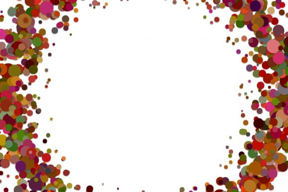 Abstract Confetti Background Graphic Backgrounds By davidzydd - Image 1