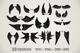 Angel Wings Bundle Graphic Crafts By Euphoria Design