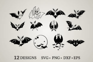 Bat Clipart Vector  Graphic Crafts By Euphoria Design