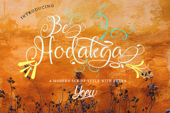 Print on Demand: Be Hodakga Script & Handwritten Font By YOEW