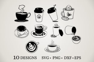 Coffee Cup Bundle  Graphic Crafts By Euphoria Design