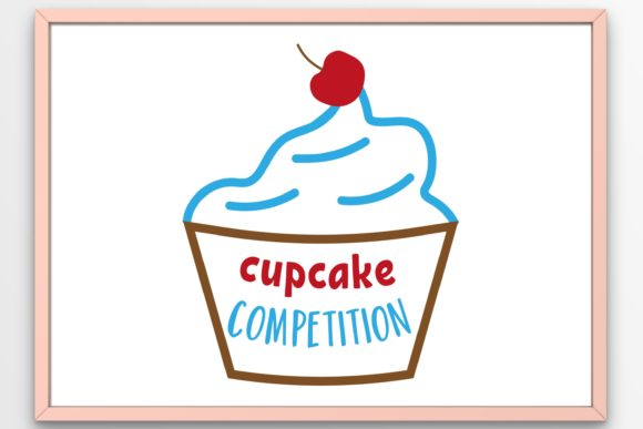 Download Free 8 Cupcake Svg Designs Graphics for Cricut Explore, Silhouette and other cutting machines.