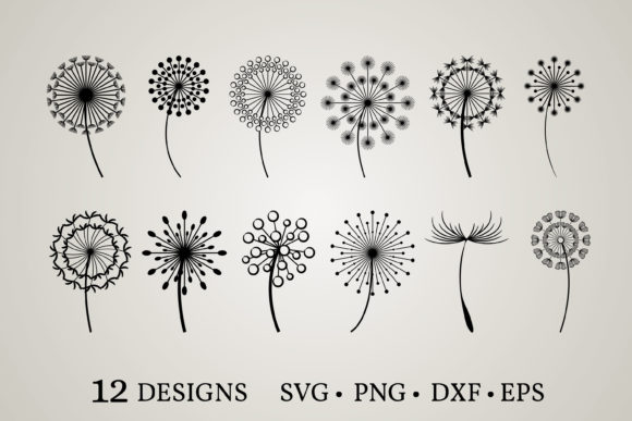 Dandelion Bundle  Graphic Print Templates By Euphoria Design