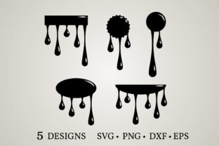 Dripping Borders  Graphic Crafts By Euphoria Design