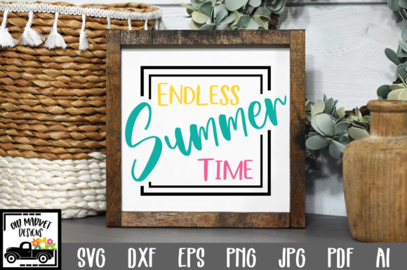 Download Endless Summer Time Cut File