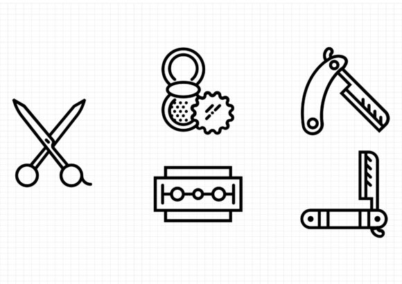 Download Free Grooming Graphic By Sayangnadyapkm3 Creative Fabrica for Cricut Explore, Silhouette and other cutting machines.