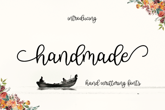 Print on Demand: Handmade Script & Handwritten Font By MYdesign
