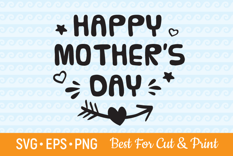 Download Free Happy Mother S Day Mom Gift Shirt Graphic By Olimpdesign for Cricut Explore, Silhouette and other cutting machines.