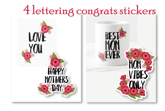 Download Free Happy Mothers Day Lettering Graphic By Cyrilliclettering for Cricut Explore, Silhouette and other cutting machines.