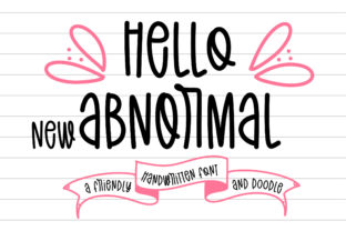 Print on Demand: Hello New Abnormal Script & Handwritten Font By BitongType 1