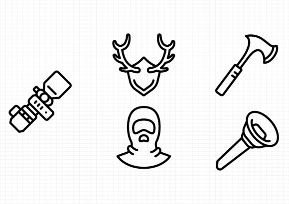 Download Free Hunting Graphic By Sayangnadyapkm3 Creative Fabrica for Cricut Explore, Silhouette and other cutting machines.