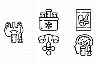 In Vitro Graphic Icons By sayangnadyapkm3