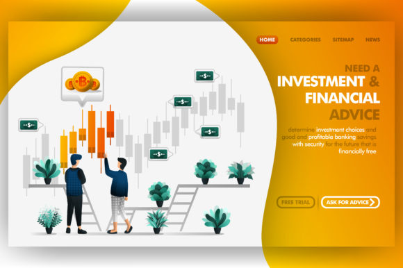Download Free Investment And Financial Advice Vector Graphic By for Cricut Explore, Silhouette and other cutting machines.