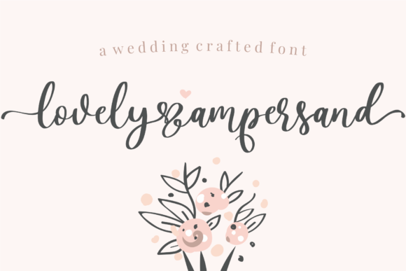 Print on Demand: Lovely Ampersand Script & Handwritten Font By Azetype