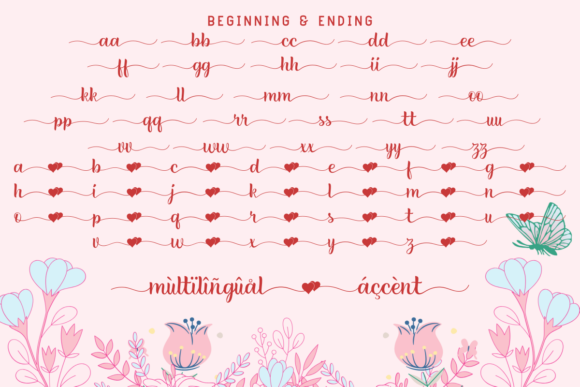 Print on Demand: Lovely Moments Script & Handwritten Font By estede75 - Image 2