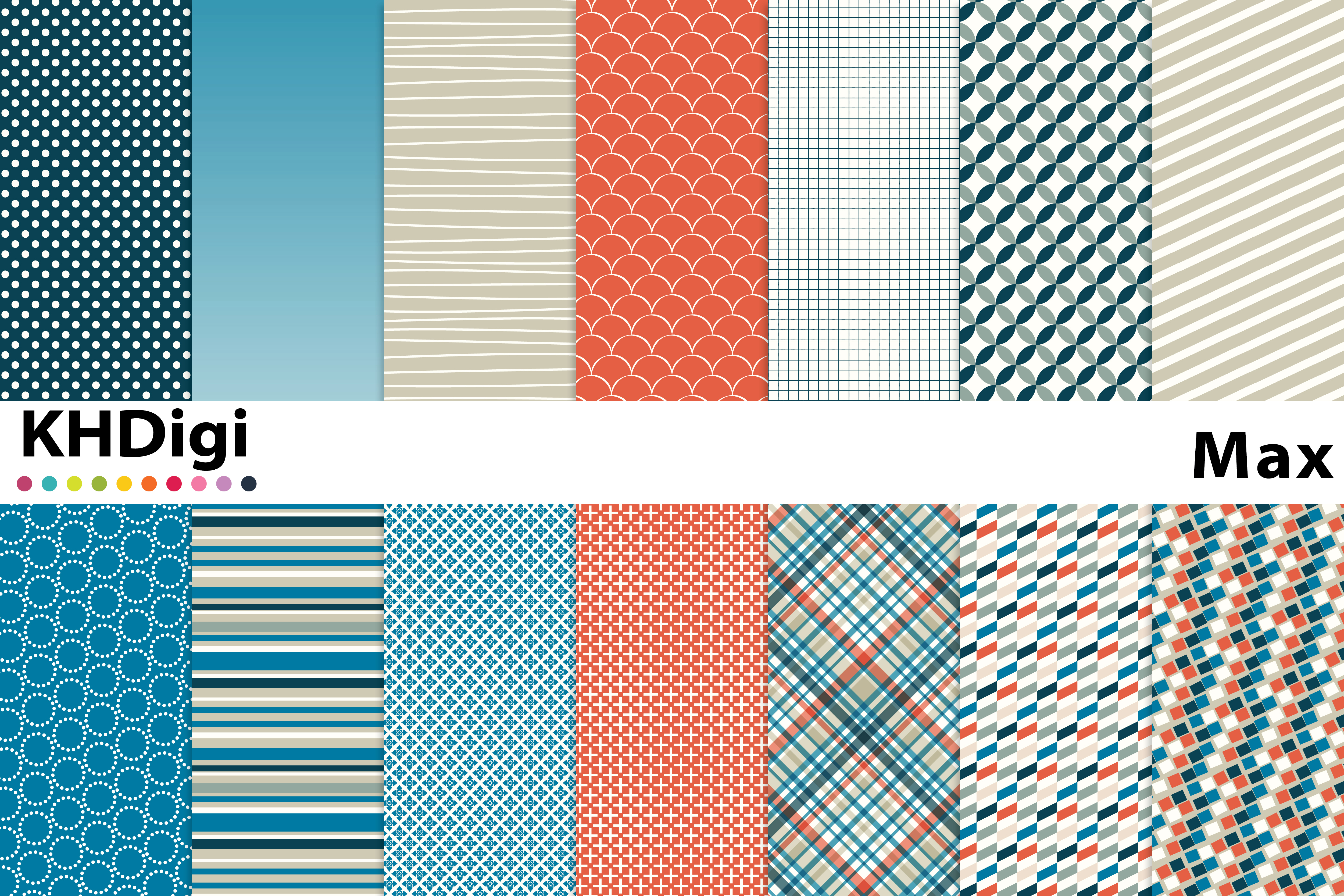 Download Free Max Digital Paper Graphic By Khdigi Creative Fabrica for Cricut Explore, Silhouette and other cutting machines.