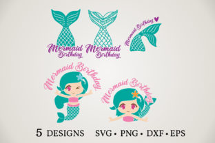 Mermaid Tail Graphic Crafts By Euphoria Design