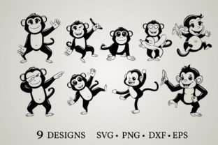 Monkey Clipart Graphic Crafts By Euphoria Design