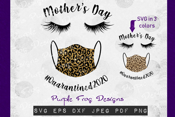 Download Free Mothers Day Quarantine Graphic By Heather Terry Creative Fabrica for Cricut Explore, Silhouette and other cutting machines.