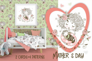 Mother's Day. Graphic Illustrations By grigaola