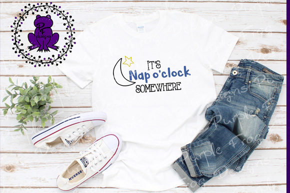 Download Free Nap Naptime Nap O Clock Graphic By Heather Terry Creative for Cricut Explore, Silhouette and other cutting machines.