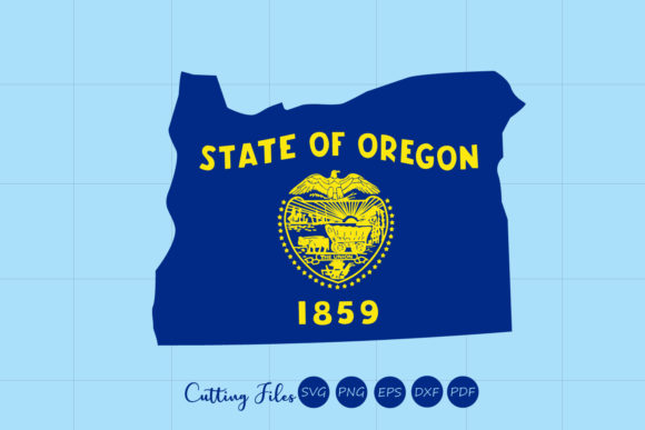 Download Free Oregon State With Flag Background Graphic By Hd Art Workshop for Cricut Explore, Silhouette and other cutting machines.