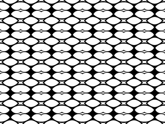 Download Free Oval Pattern Vector Graphic By Asesidea Creative Fabrica for Cricut Explore, Silhouette and other cutting machines.