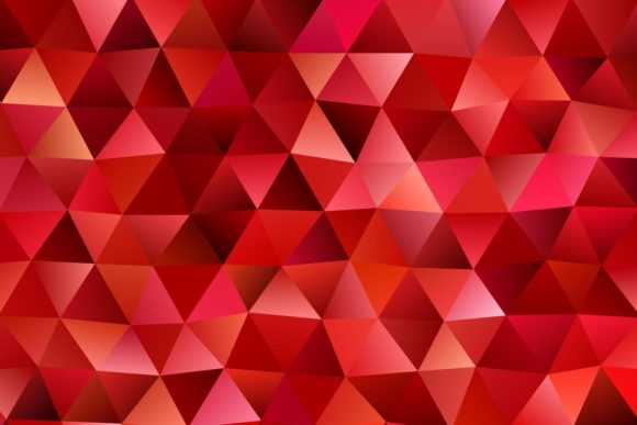 Red Chaotic Triangle Background Graphic Backgrounds By davidzydd