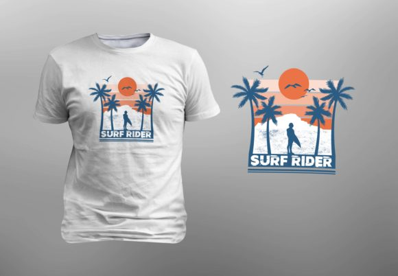 Download Free Surf Rider Editable Graphic By Giakienshutter Creative Fabrica for Cricut Explore, Silhouette and other cutting machines.