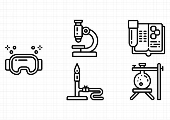 Science Graphic Icons By sayangnadyapkm3