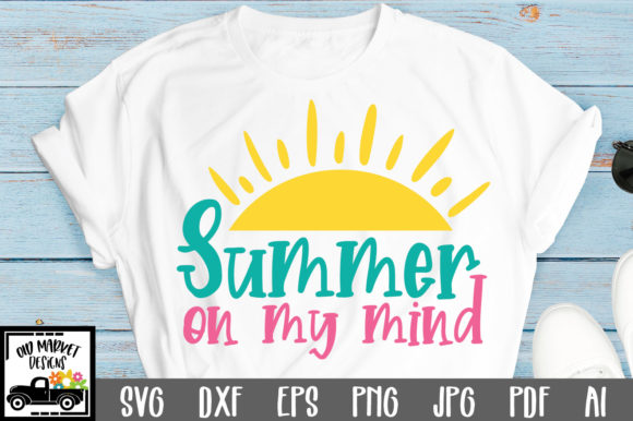 Download Summer on My Mind Cut File