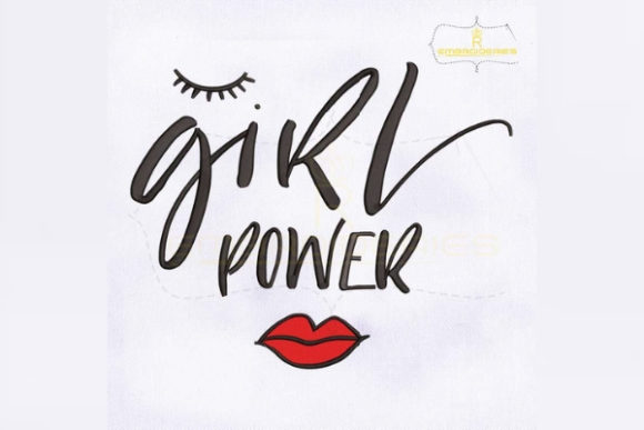 Download Free Sweet And Darling Girl Power Creative Fabrica for Cricut Explore, Silhouette and other cutting machines.