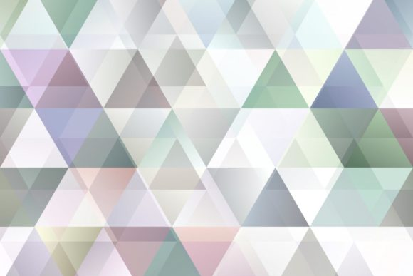 Triangle Background with Opacity Graphic Backgrounds By davidzydd - Image 1