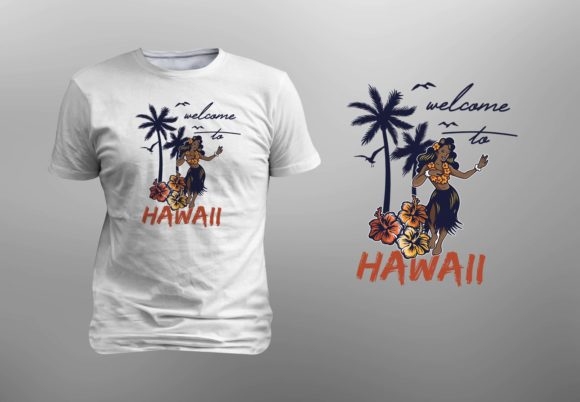 Download Free Welcome To Hawaii Editable Graphic By Giakienshutter Creative Fabrica SVG Cut Files