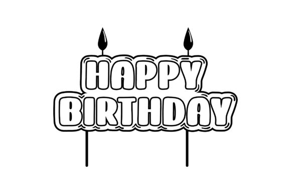 Download Free Birthday Candle Svg Cut File By Creative Fabrica Crafts SVG Cut Files