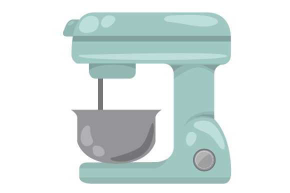 Download Free Kitchen Mixer Svg Cut File By Creative Fabrica Crafts Creative for Cricut Explore, Silhouette and other cutting machines.