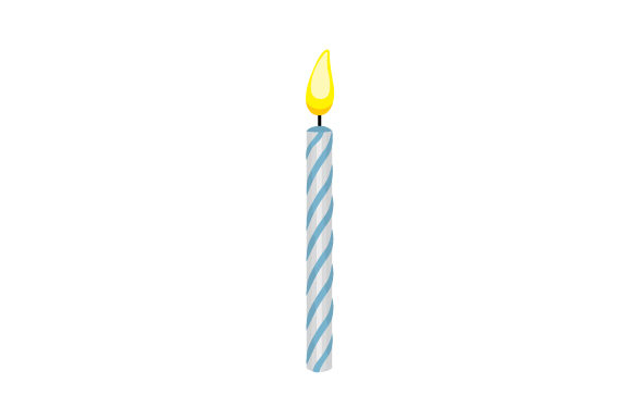 Birthday Candle Birthday Craft Cut File By Creative Fabrica Crafts