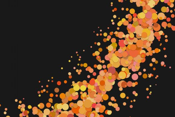 Abstract Confetti Background Graphic Backgrounds By davidzydd