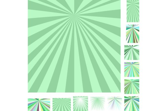 Abstract Ray Burst Background Set Graphic Backgrounds By davidzydd - Image 1
