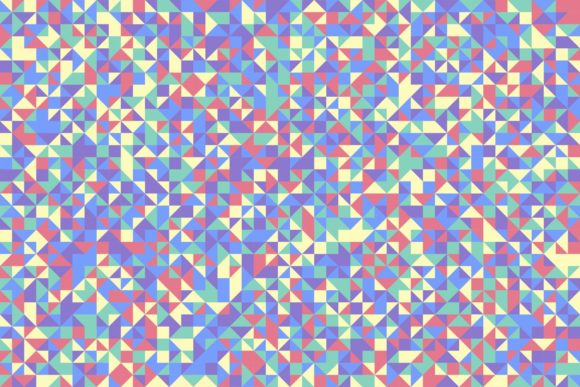 Abstract Triangle Background Graphic Backgrounds By davidzydd - Image 1