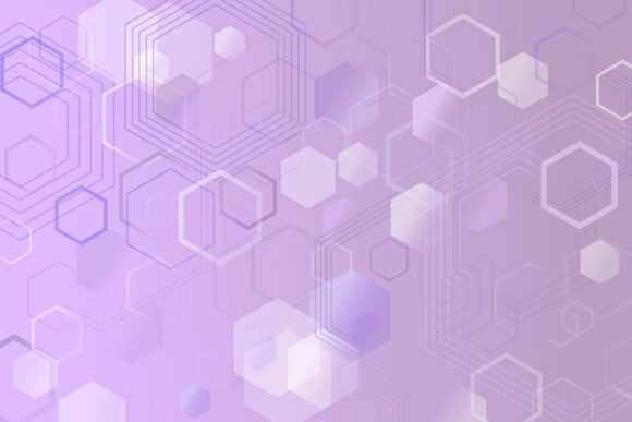 Abstract Web Background with Hexagons Graphic Backgrounds By davidzydd