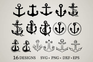 Anchor Bundle Graphic Crafts By Euphoria Design