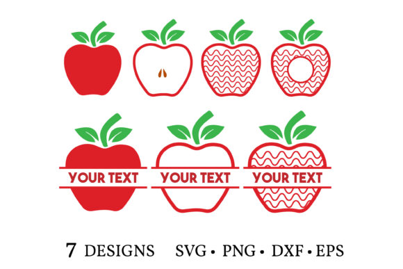 Download Free Apple Bundle Graphic By Euphoria Design Creative Fabrica for Cricut Explore, Silhouette and other cutting machines.