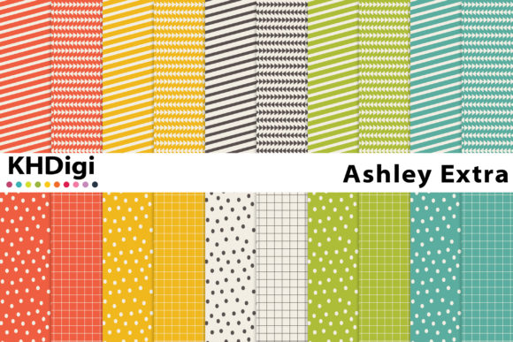 Download Free Marsha Digital Paper Graphic By Khdigi Creative Fabrica for Cricut Explore, Silhouette and other cutting machines.