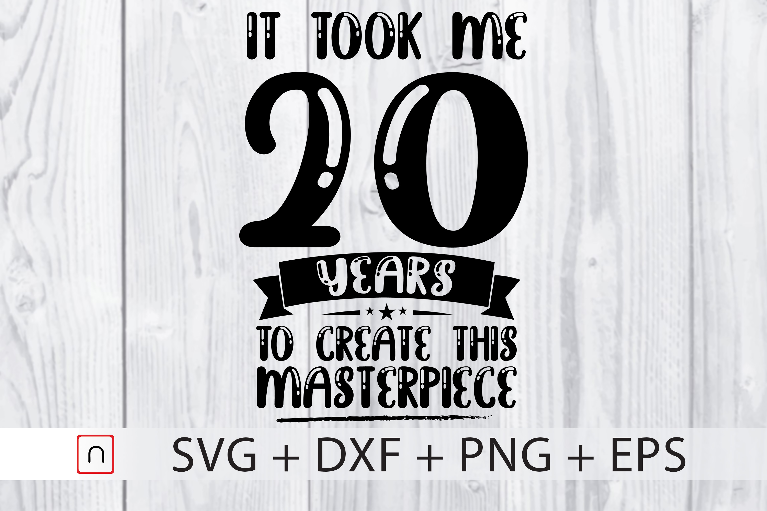 Download Free Birthday 20 Years Old Graphic By Novalia Creative Fabrica for Cricut Explore, Silhouette and other cutting machines.