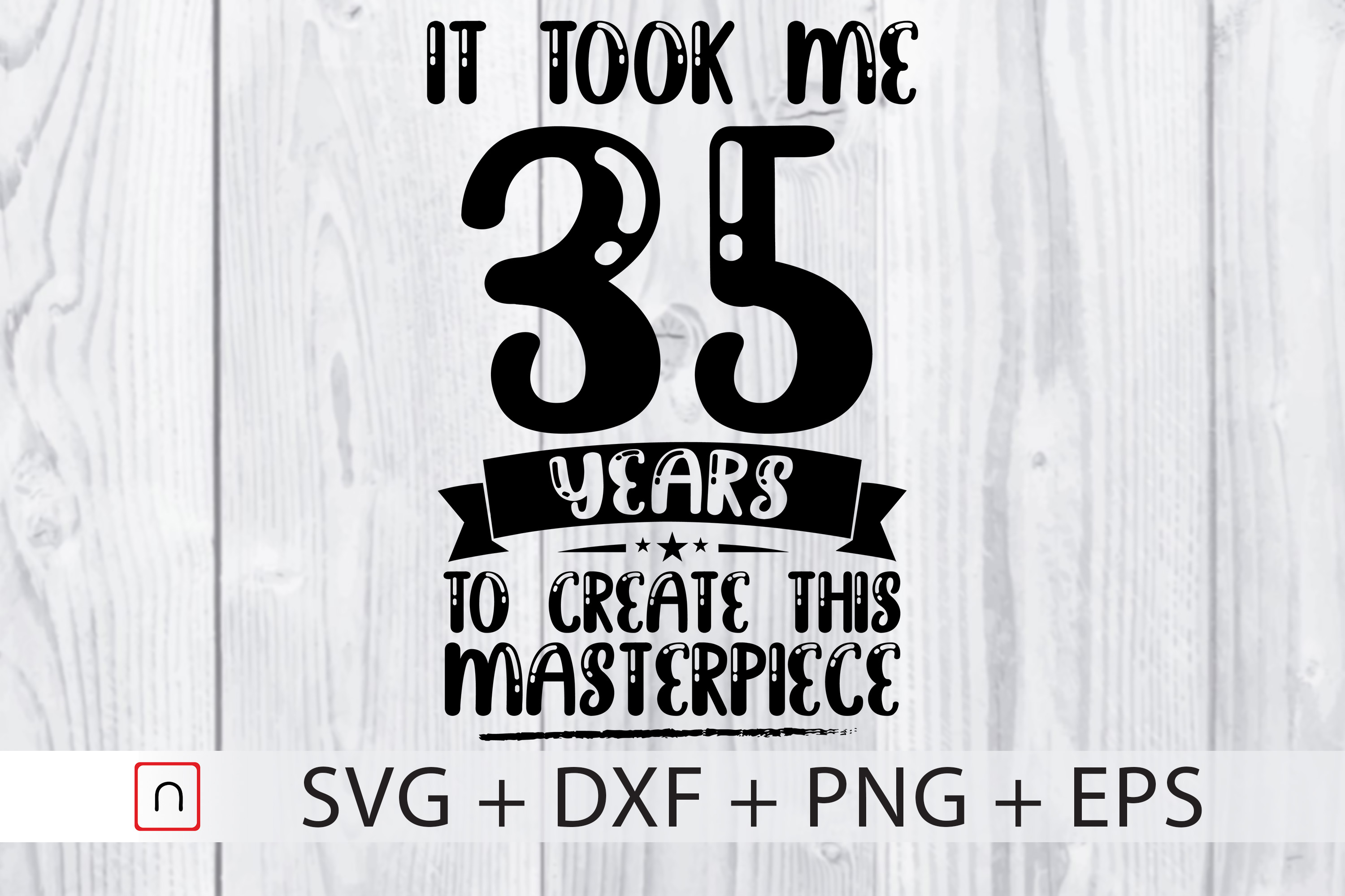 Download Free Birthday 35 Years Old Graphic By Novalia Creative Fabrica SVG Cut Files